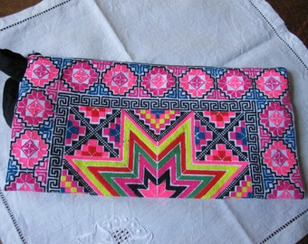Original cover embroidered, ethnic, to strap, star pattern