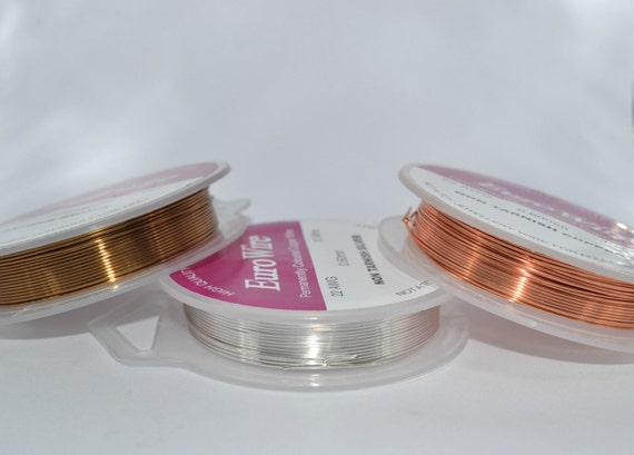 20 metres artistic copper wire 04mm wire 26 gauge wire like this item greentooth Images