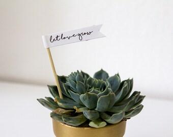 Let Love Grow Flag