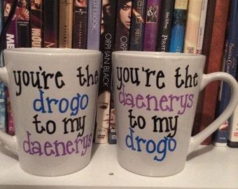 Daenerys & Drogo Couples Mugs