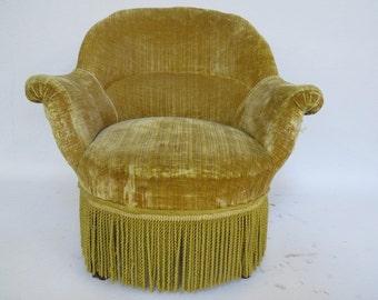 1940's slipper chair