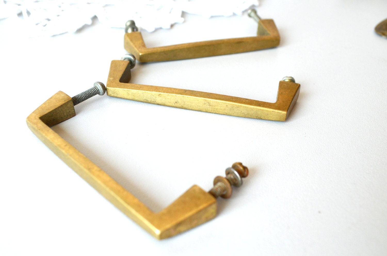 Metal Drawer Pulls Set Of 3 Pulls Furniture Hardware Metal Pull Ring Cabinet Handles Big