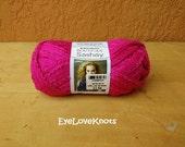 Destash - Red Heart's Boutique Sashay Yarn in the Pink Colorway - Pink Sashay Yarn - Ready to Ship Yarn