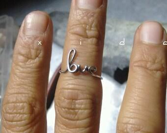 Silver Rings, Handmade