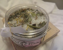Protection  spell herbal bath crystals