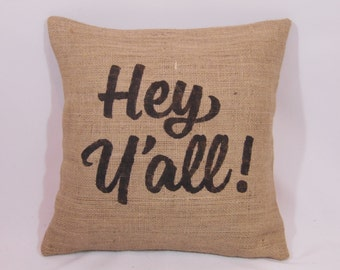 Pillows with sayings