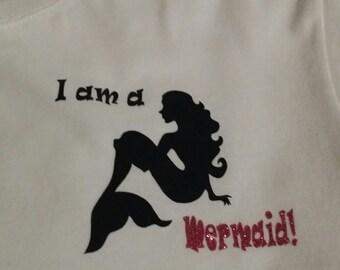 I am a Mermaid Tee shirt