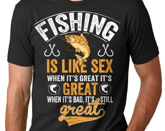 Funny fishing shirt etsy for Funny fishing shirts