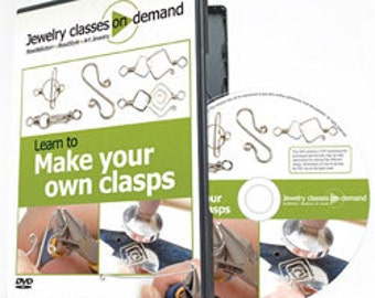 Learn to Make Your Own Clasps - DVD (VT2527)