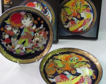 Pair of vintage Rosenthal wall plates - Aladin