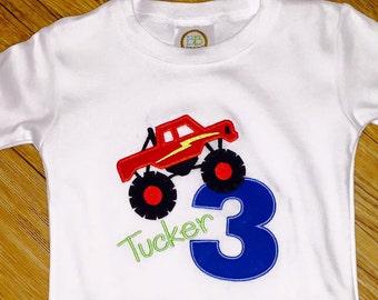 Monster Truck Birthday Shirt!