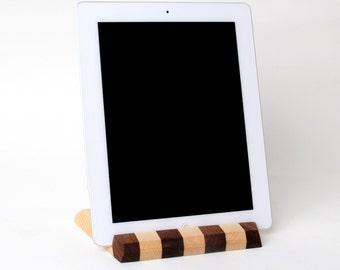Wood iPad Stand - Wood iPad Docking Station - Wood iPad Holder