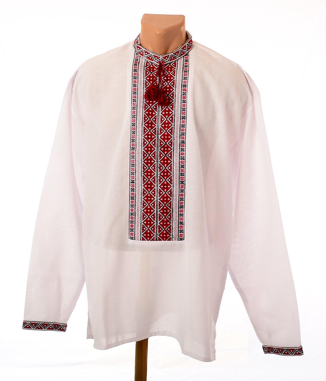 Ukrainian hand embroidered men s shirt sorochka