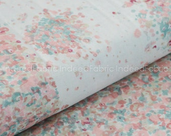 DOUBLE GAUZE- Fuwari Fuwari- Nani IRO, Japanese Fabric, Double Gauze Cotton Fabric, By the Half-Yard