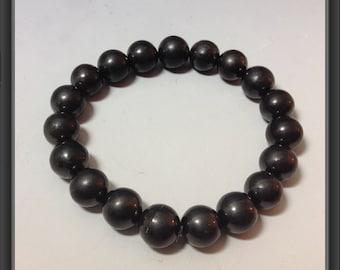 Shungite bracelet 10mm beads