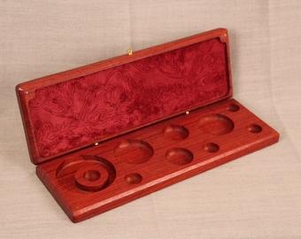 Padauk Jewellery Tray