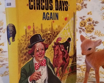 Enid Blyton book | Circus Days Again | Dean and Son | Childrens story book