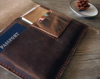 Super iPad Mini 4 Sleeve, Distressed leather Galaxy Tab E Case Covers for iPad Mini, Nexus, Galaxy Tab S A E, Custom Tablet Sleeve