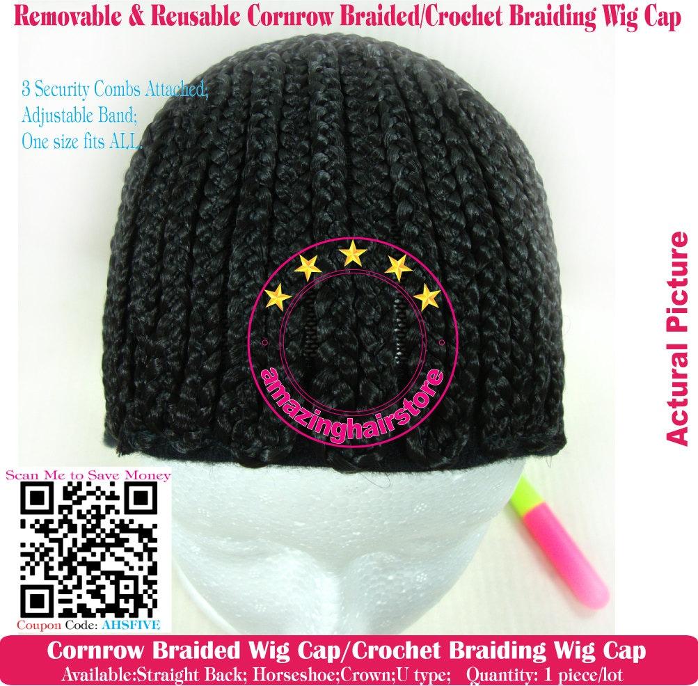 Make Your Own Wig Cornrow Cap