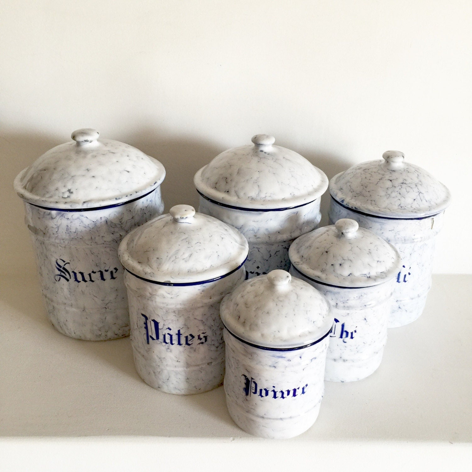 French Canisters Kitchen French Kitchen Canisters Fullxfull Qycg French Antique Enamel