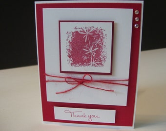 Fun Stampers Journey Thank You Card