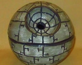 Death Star Yarn Bowl - Star Wars Yarn Bowl - Ceramic Yarn Bowl