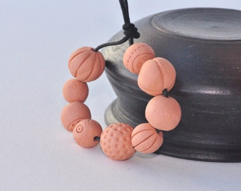 DIY project, Terracotta Beads, Indian jewelry, Indian earrings, Terracotta jewelry, Free Shipping