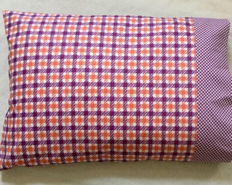 Pillowcase , handmade ,full size and 100% cotton