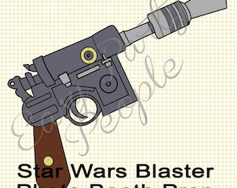 Star Wars Blaster Photo Booth Prop