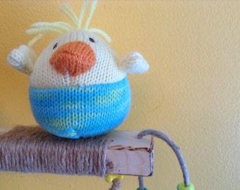 BIRD TOY / Comfy PLATFORM Perch: Fun included!