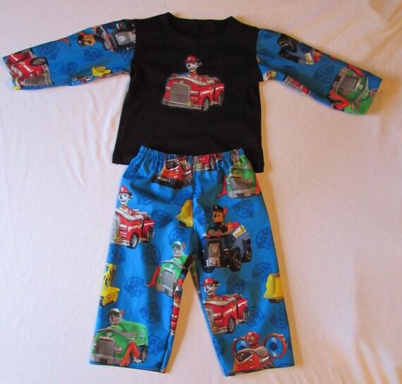 Paw Patrol pajamas/boys Paw Patrol pajamas/Paw Patrol Birthday pajamas/Toddler Paw Patrol/Paw Patrol/Boys Paw Patrol/Boys birthday gift
