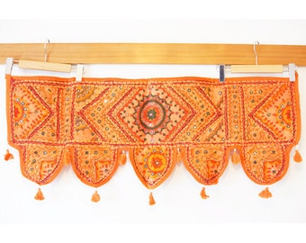 Indian mirror work tapestry (0003) Wall Hanging Tapestry Ethnic tapestry Mirror work India Indian mirror work wall hanging