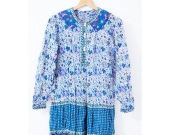 Vintage indian cotton dress (0003)
