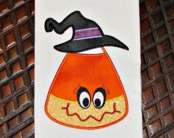 Halloween Applique Design Embroidery