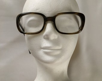 Vintage Bausch & Lomb Mens Eye Glasses With Thick Tortoise Shell Frames 6