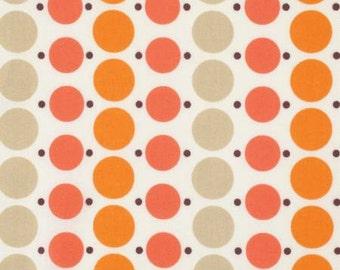 Katie Jump Rope by Denyse Schmidt for Free Spirit Fabrics - Big Dot in Geranium