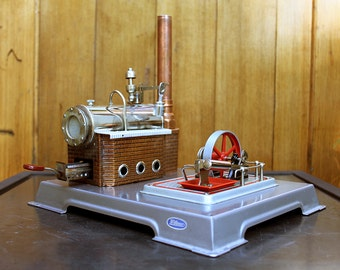 "Mid-Century ""Toy"" Steam Engine - Wilesco D12"