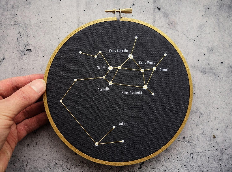 Sagittarius Star Constellation Tattoo Popular Items For