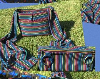 Timbuktu convertable wrap scrap diaper bag cross body bag backpack