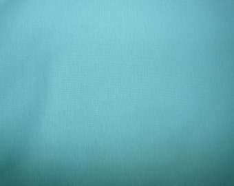 Fabric - Double cotton jersey fabric - Aqua