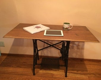Antique Sewing Machine Desk