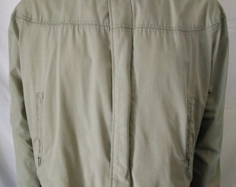 Vintage 60's bomber jacket Varsity by Catalina California green color size 42