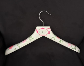 Custom Painted Wedding Hangers