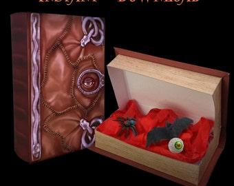Hocus Pocus Book Box - Instant Download Printable Witch Spell Book Inspired Favor Gift Cosplay Costume Prop Winnie Sarah Sanderson Halloween