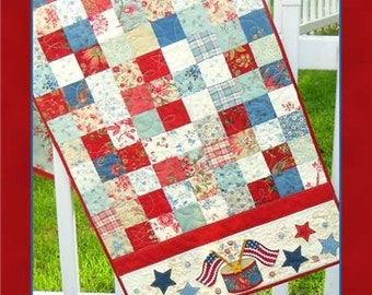 Pattern - American Glory Table Runner by Shabby Fabrics (48502) Paper Pattern Instructions
