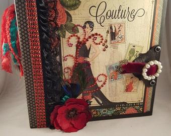 8x8 couture scrapbook album
