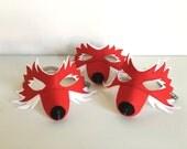 Fuchs Maske, Filzmaske für Kinder
