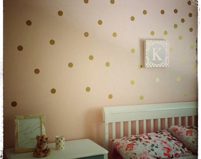 "150 POLKA DOT vinyl decals 2"" inches diameter - Polka dots sticker - polka dots nursery - polka dots wall art wall decor wall decals"