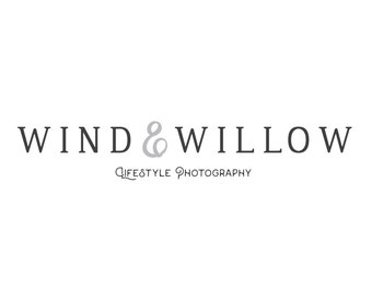 Logo Design / Premade Logo / Elegant Design / Small Business Photography Logo -- (Vol.5, Vrs.2)