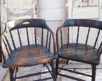 Saloon Chair in Tavern Black-per chair